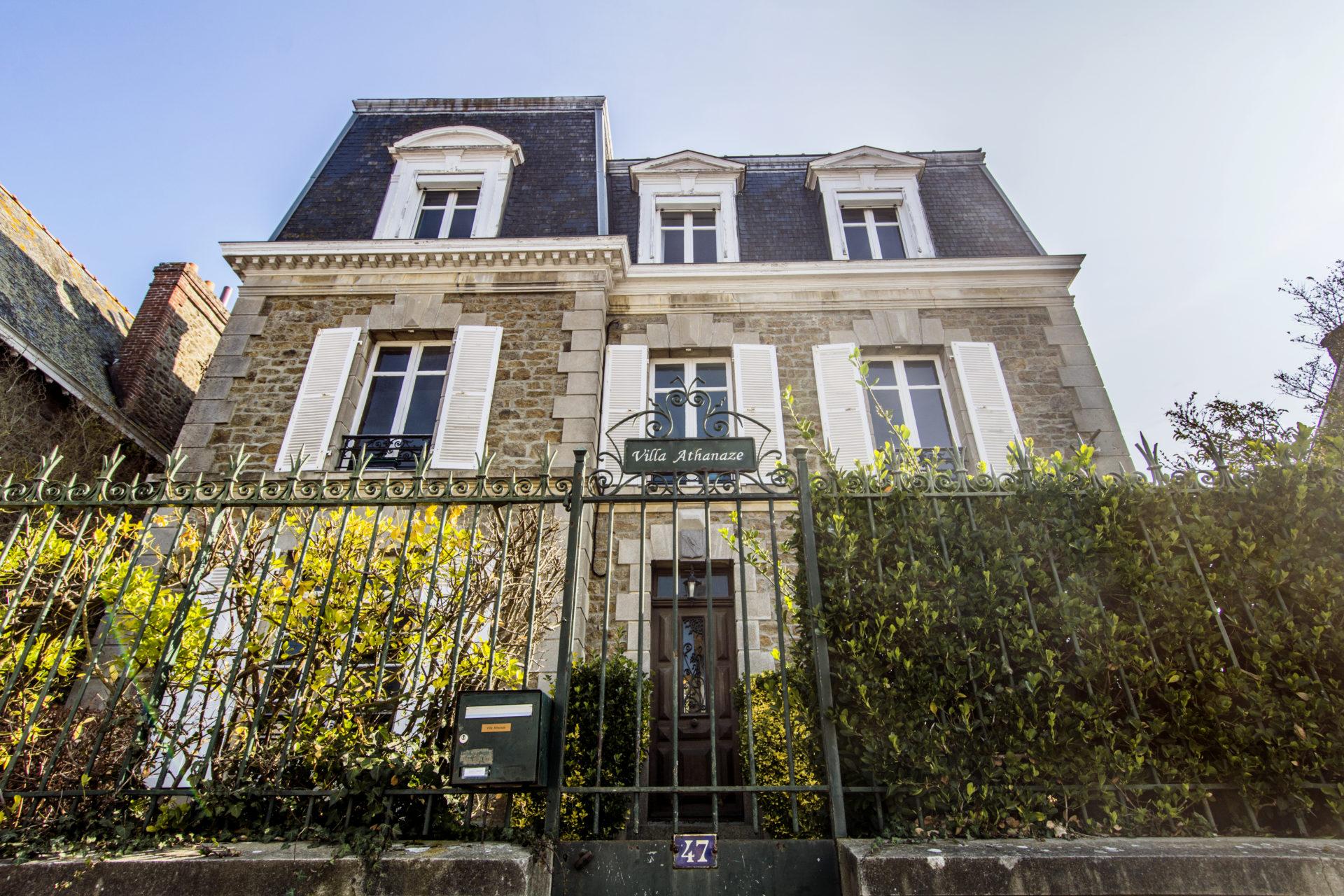 La Villa Athanaze à Saint-Malo